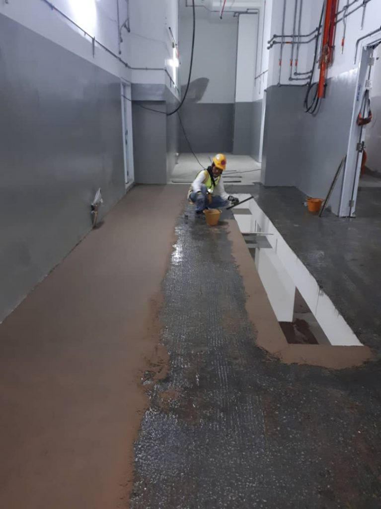 Dri-Floor MT 1100 epoxy mortar