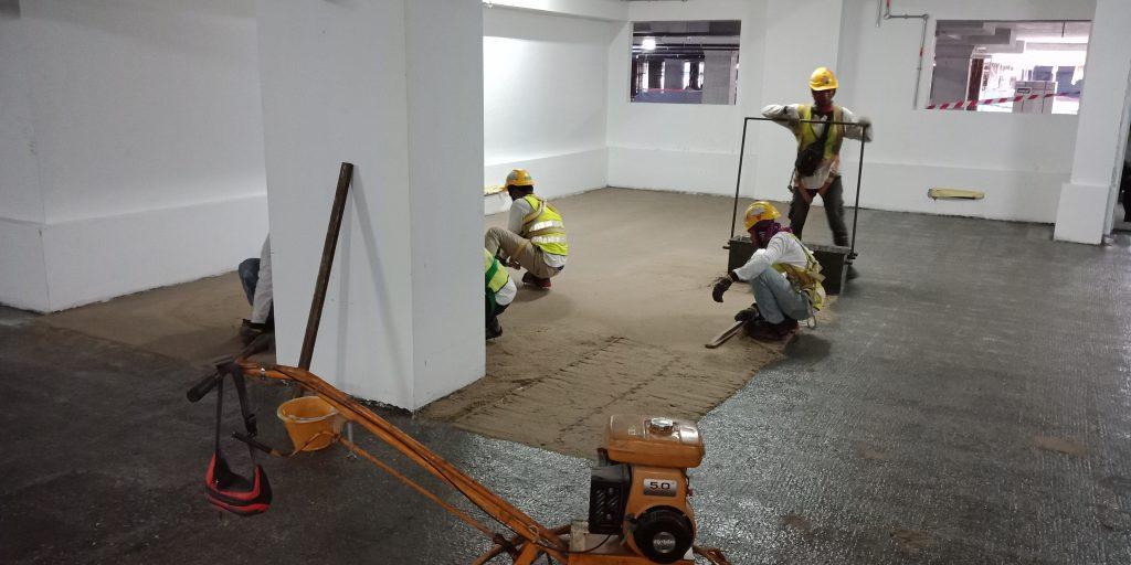 Dri-Floor MT 1100 epoxy mortar B2 PNB118