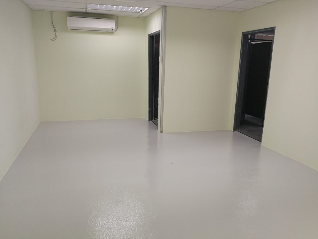 Dri-Floor EP 1300 - MRT Station - Textured Epoxy Flooring