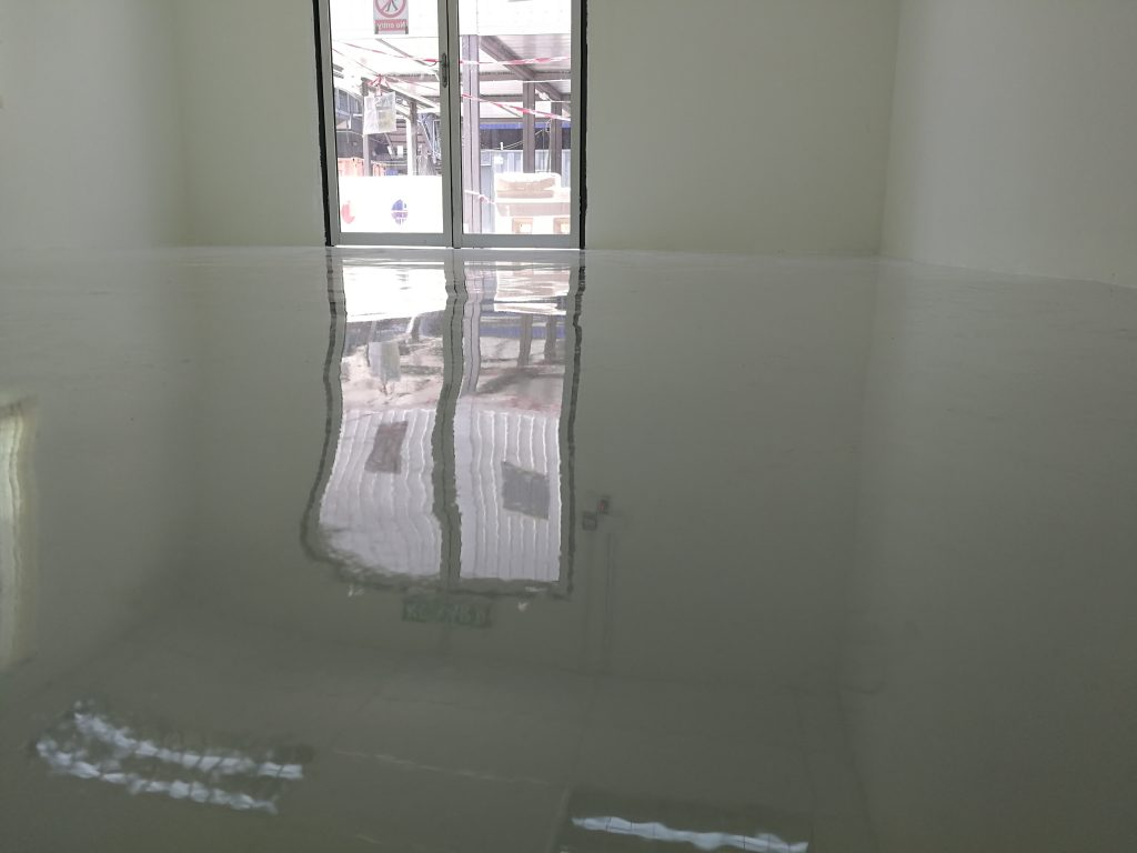 Dri-Floor EP 1500 - Self Levelling Epoxy Flooring Close Up