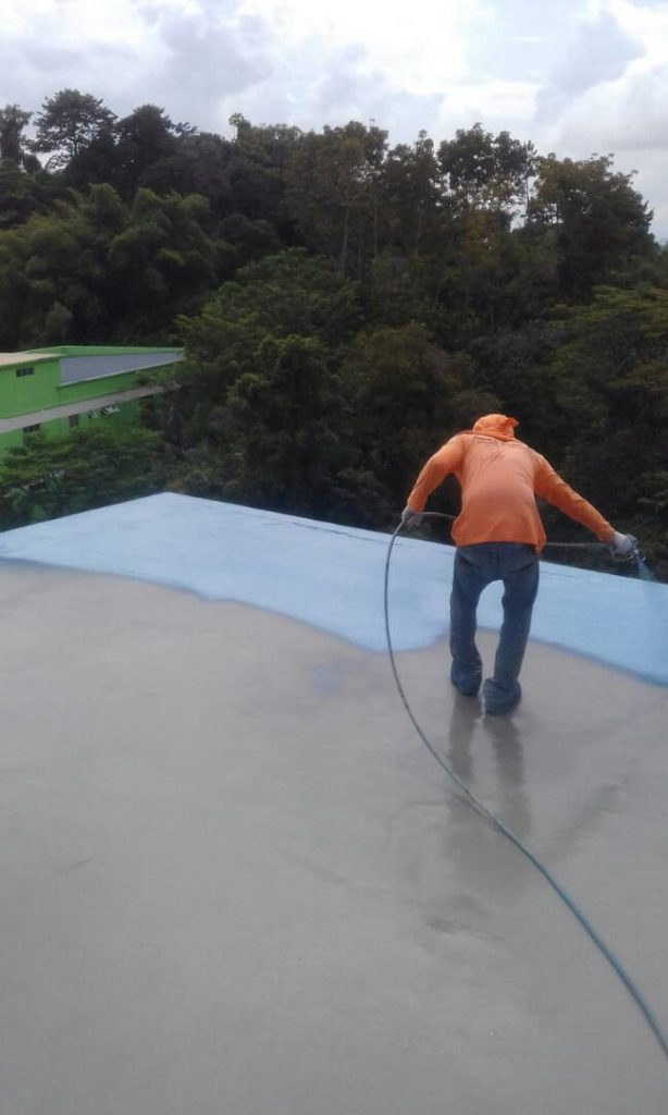 Roof coating - Dri-Gard UV 920 - Dritech